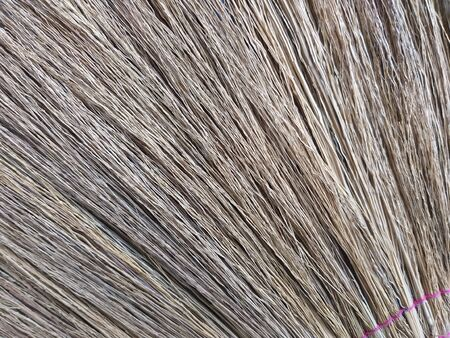 close up dry broom texture