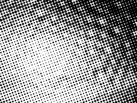 black and white dotted pattern background