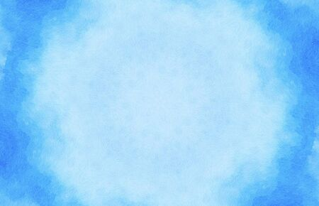 Art watercolor of blue color background