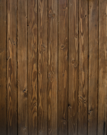 darkwood: Brown wood wall as vertical background Stock Photo