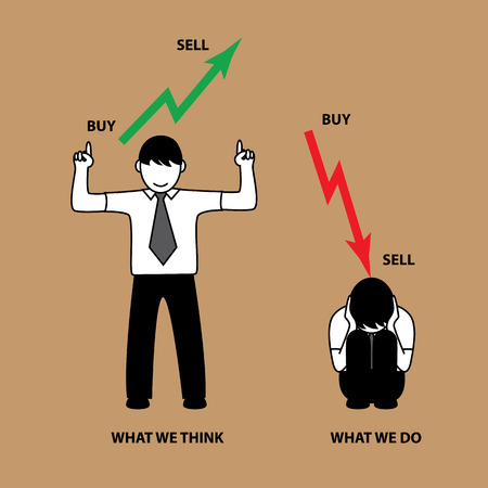 common market: Common situation about stock market people. want profit but loss