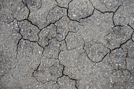 the climate: dry clay as texture as background show hot summer climate Stock Photo
