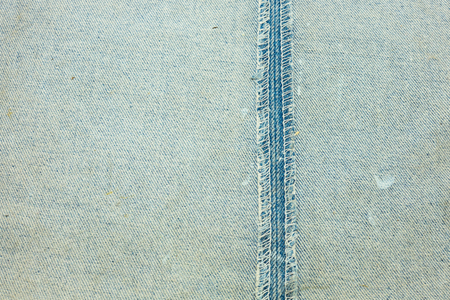 seam: Old blue jean texture and inside seam