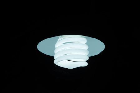 lightening: Lightening compact fluorescent in the dark