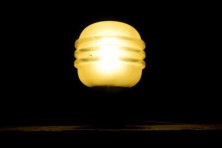 lightening: lightening lamp in the dark