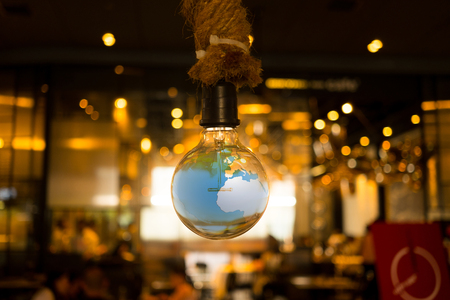 ceiling design: Hanging lamp and the world inside