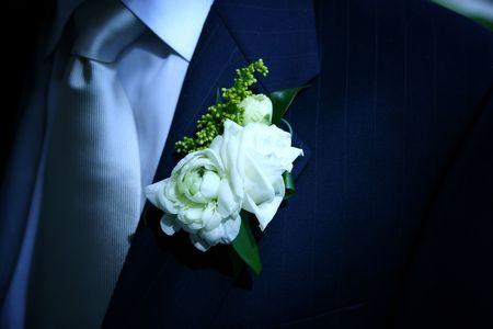 boutonniere: Wedding Boutonniere