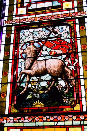 old victorian stained glass
