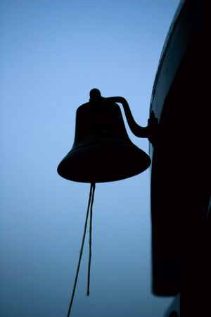 silhouette of a bell