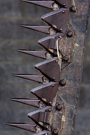 날카로운 철강 농장 장비