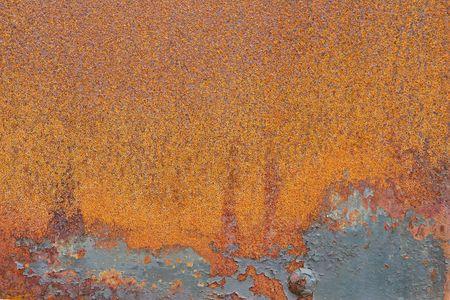rust red: naranja y rojo �xido resumen textura de fondo o de fondo