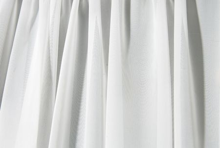 abstract white texture of drapery and linens