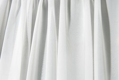abstract wit textuur van gordijnen en beddengoed