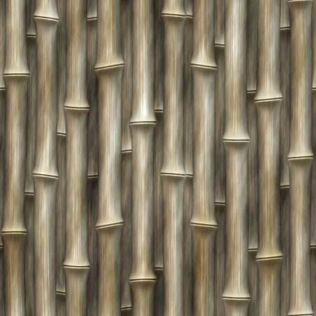 graphic: realistic computer generated graphic pattern rows of bamboo vertically stacked in straight lines