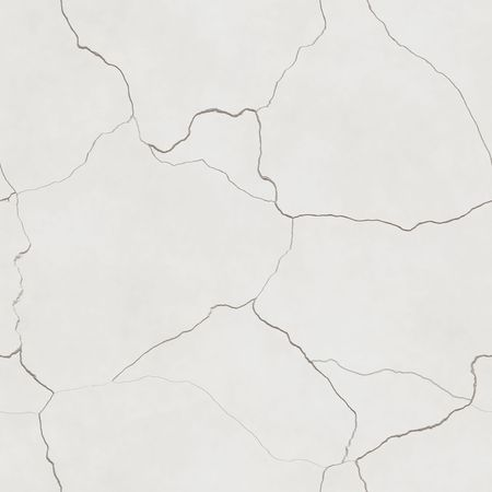 computer generated seamless tile image of cracked plaster in light beige or eggshell white. tiles seamlessly photo