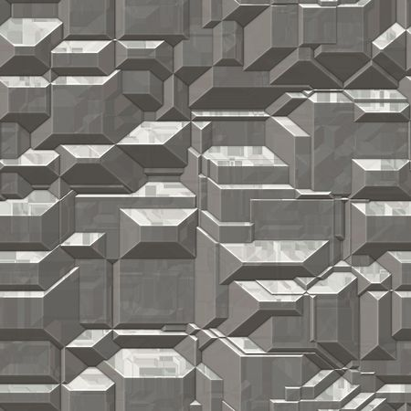 computer generated cut stone background in grey. tiles seamlessly for larger application