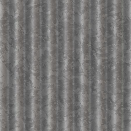 seamlessly: computer generated metal ripple with gray steel raised and lowered texture for background. tiles seamlessly Stock Photo