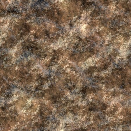 tileable: realistic looking computer generated wet rock texture with brown tones