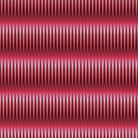 hurts: wavy red pattern of repeating shapes that hurts the eyes. tiles seamlessly.