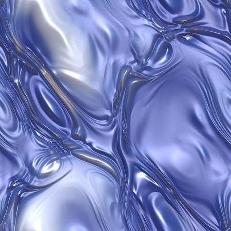 liquid metal: Bollicino metallo liquido blu con increspature e bolle. tessere senza soluzione di continuit�