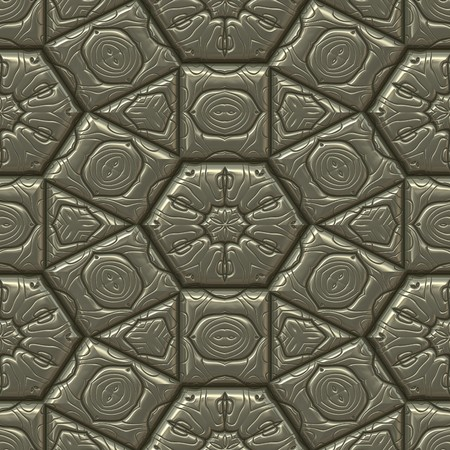 seamlessly: dark leather texture with indented pattern. tiles seamlessly