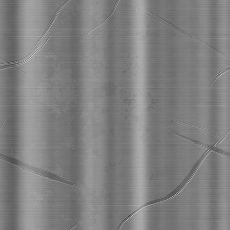 scratched silver metal background texture. tiles seamlessly.