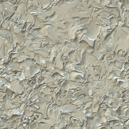 computer generated seamless tile image of cracked plaster in light beige or tan Stockfoto