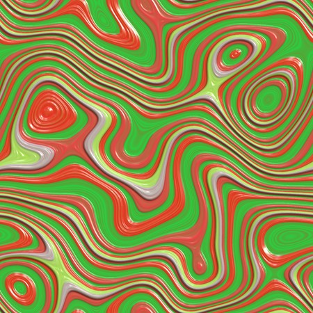 seamlessly: green, red and yellow colorful swirls wallpaper background. tiles seamlessly