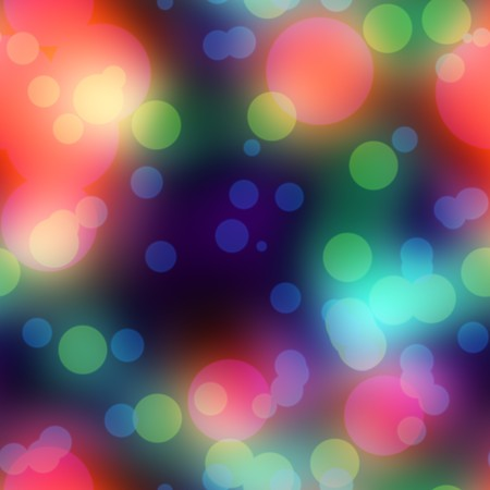 diffused: diffused lighting with soft light spots over a colorful red and blue background