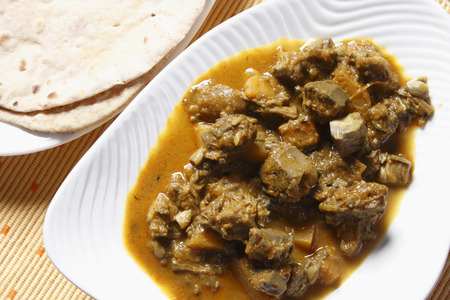 bengali: Kanthal curry kathal curry is a delicious  curry made with Jackfruit, ginger-garlic paste