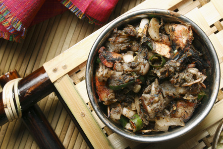 mach: Misa Mach Poora or Grilled Shrimps is a special sea food from India