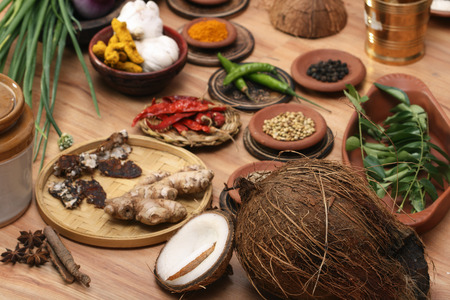greatly: Ingredient mixture may include a variety of ingredients from cumin, fennel, coriander, cardamom, cinnamon, cloves, poppy seeds, saffron, pepper, chilies, and caraway and more  These spice mixtures vary greatly between cooks and different dishes