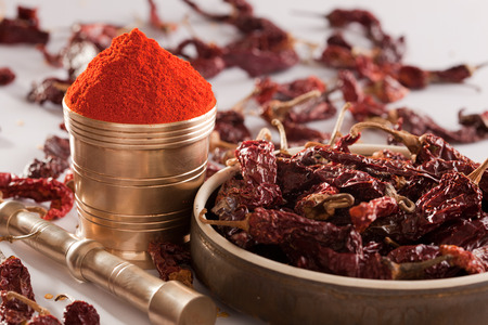 red chilly: Red Chilly powder.