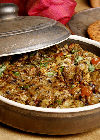 ka: Papad ka Shaak - a Veg dish from Rajasthan