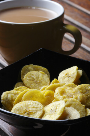 chats: Banana Chips - Wafers made from raw Banana