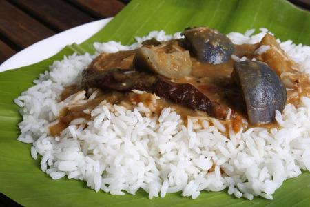 indian cookery: Bringal Sambar