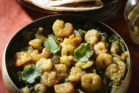 marathi: Sukhi Kolmi - A maharashtrian prawn dish