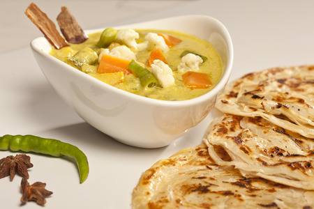 paneer: Hot and spicy butter Paneer Malsala  Stock Photo