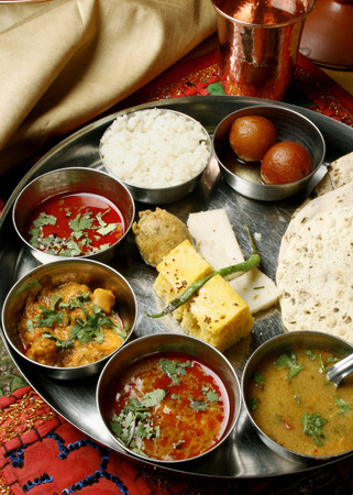Gujarati Thali photo