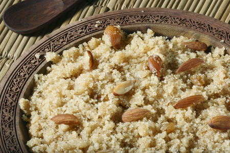 Halwaua e Aurd Sujee - a sweet dish made from Semolina, popular in North-West India, Pakisthan and Afghanistan