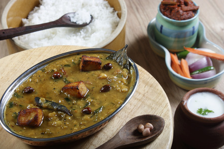 india food: Daal Kadhi is a spicy kadhi made of lentils and curd