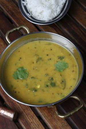 marathi: Pithale  curry