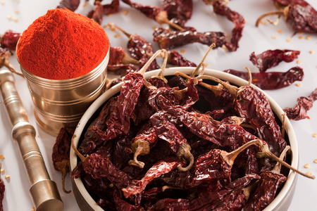chilly: Red Chilly powder.