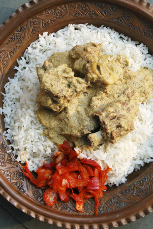 indian cookery: Yakhni kashmiri mutton curry