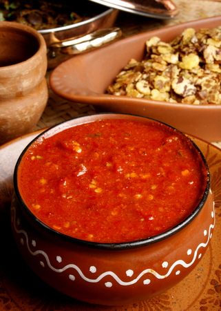 ki: Lahsun ki Chutney is popular eatables in Rajasthan especially in winter season
