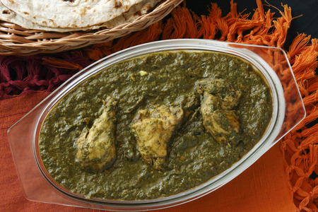 Saag Chicken from India