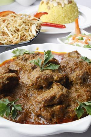 bengali: Kochi Panther curry - A Bengali dish Stock Photo