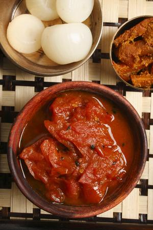 chutney: Tomato Oambal Chutney