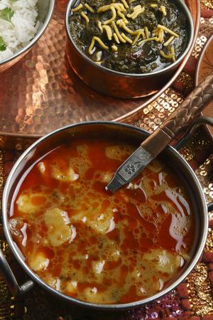 gujarat: Khatta Alu - a potato curry from Gujarat