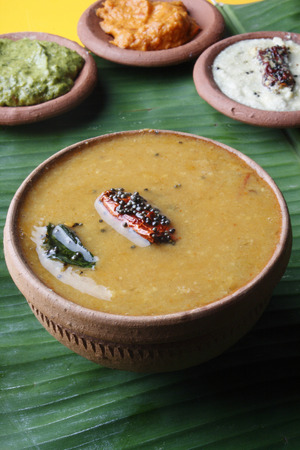 indian cookery: Sambar  - South Indian curry